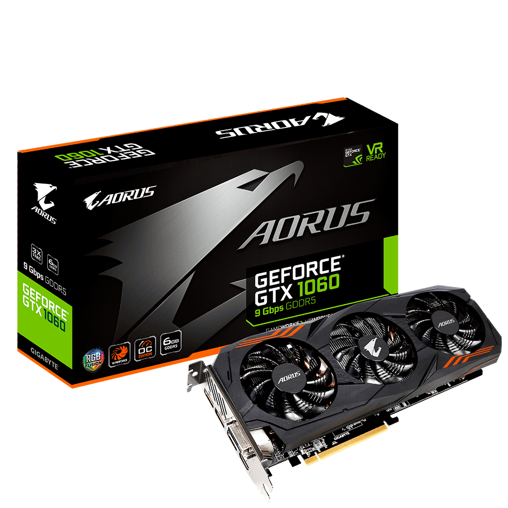 AORUS GeForce® GTX 1060 6G 9Gbps