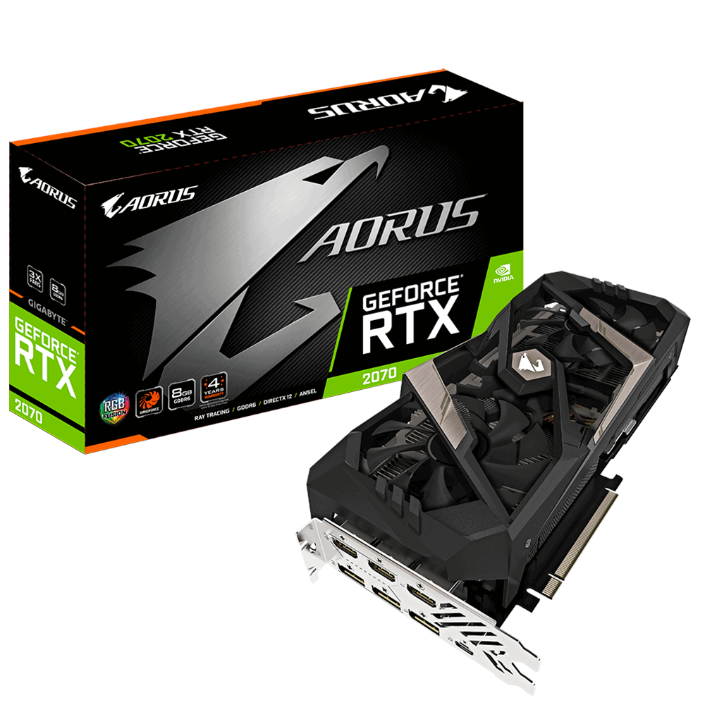 AORUS GeForce® RTX 2070 8G