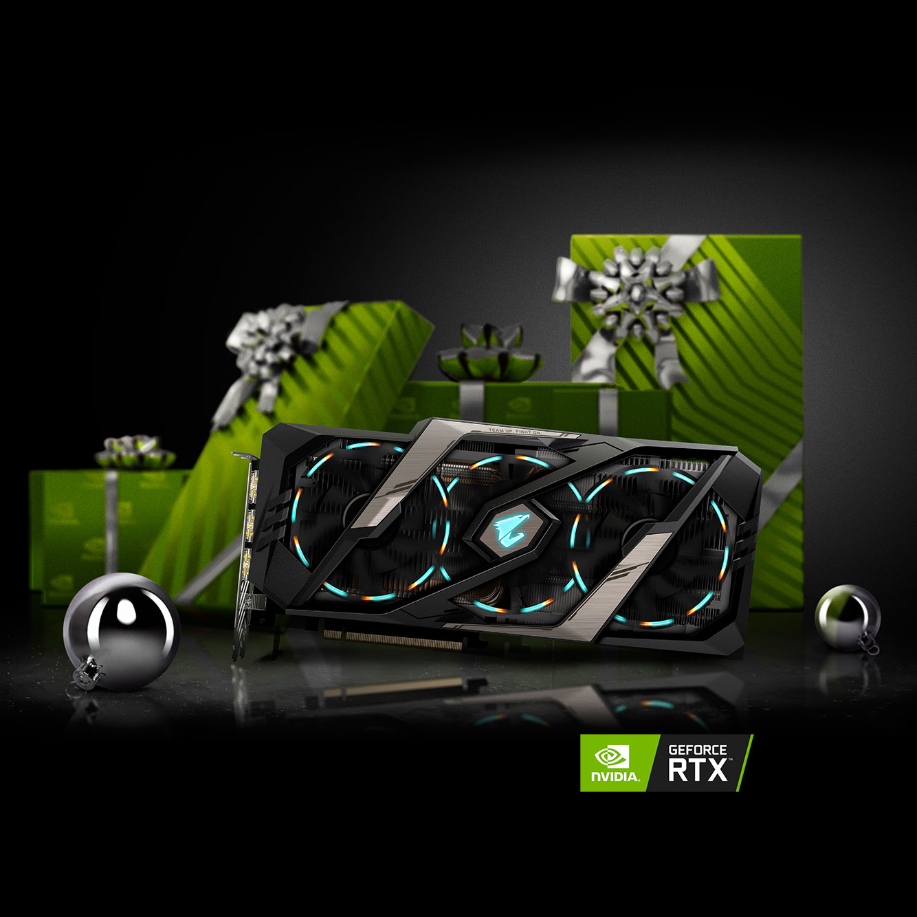 GAME BRILLIANTLY  - light up the holidays with GeForce